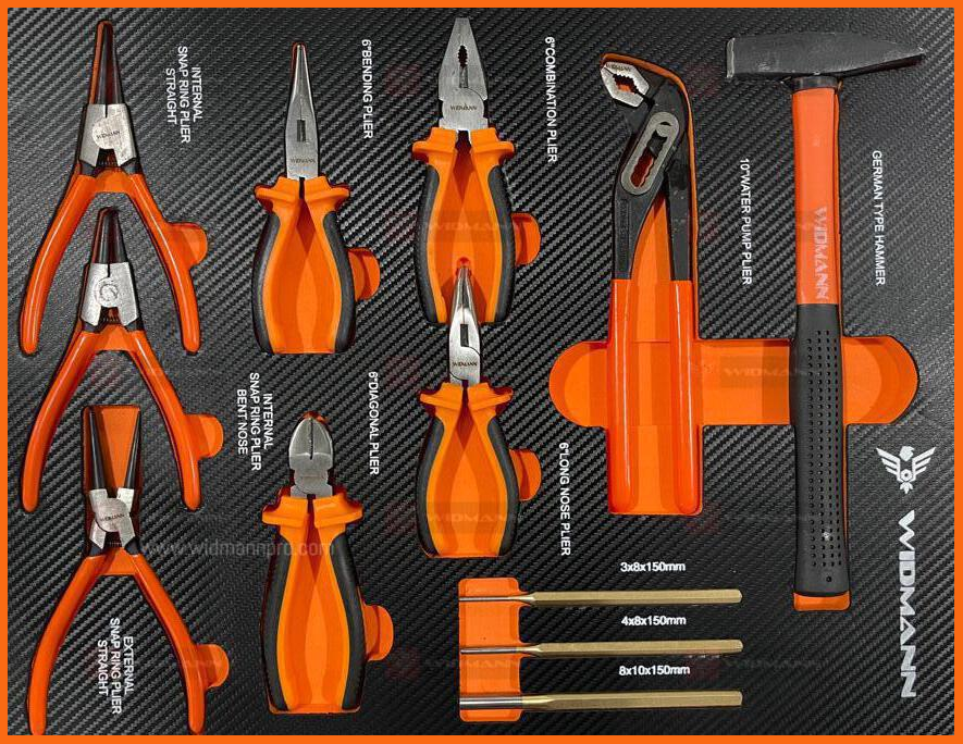 WIDMANN XXL ULTRA EDITION : TOOLS CABINET - 7 LAYERS  ORANGE