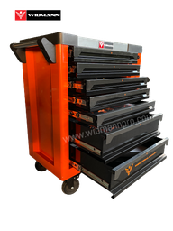 WIDMANN TOOLS CABINET - 7 LAYERS - ORANGE