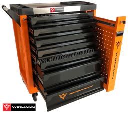 WIDMANN TOOLS CABINET  8 LAYERS ORANGE