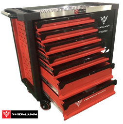 WIDMANN XXL TOOLS CABINET ULTRA EDITION  7 LAYERS -  RED